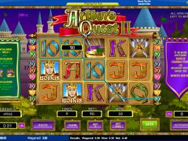 online free slot Arthur´s Quest II