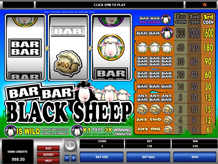 online free slot Bar Bar Black Sheep