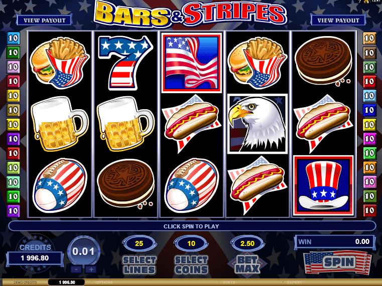 Bars And Stripes Slot Machine