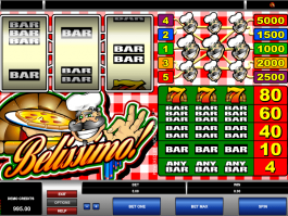 Free online slot Belissimo
