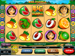 Free online slot Big Kahuna: Snakes and Ladders