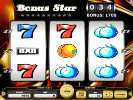 Online free slot machine Bonus Star