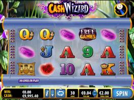 Cash Wizard online free slot