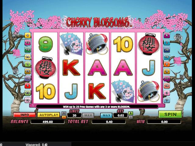 online free Cherry Blossoms slot