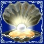 Scatter symbol from Dolphin´s Pearl Deluxe online free slot machine