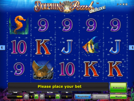 Free online slot Dolphin´s Pearl Deluxe no download