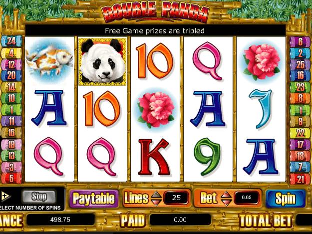Arena double panda slot machine online amaya user