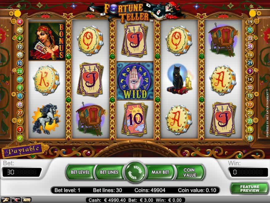 Fortune Teller Online Game