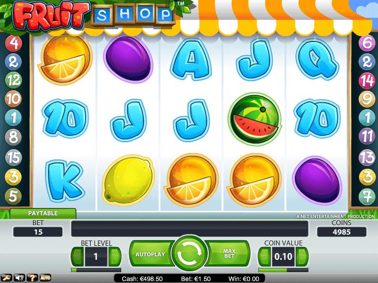 free online slot Fruit Shop for fun