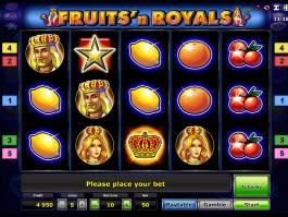 Online free slot Fruits´n Royals