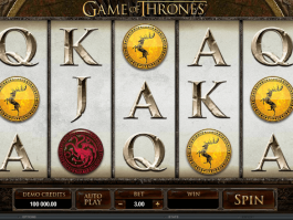 online free slot Game of Thrones