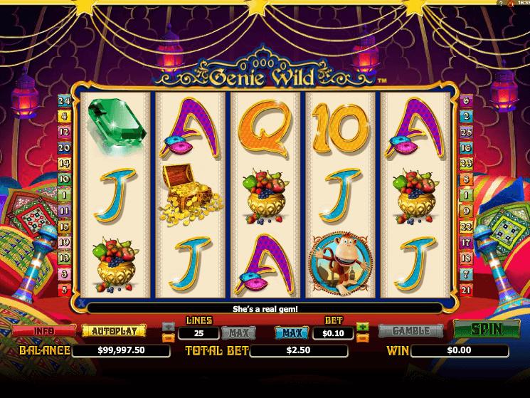 Online free slot Genie Wild