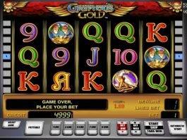 Free online slot machine Gryphon's Gold