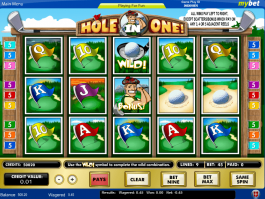 online free slot Hole in One