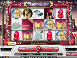 Online free slot Hot City