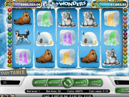 Online free slot Icy Wonders no deposit