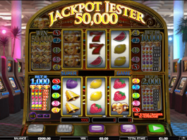 A picture of the slot game Jackpot Jester 50,000