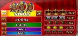 Free casino slot machine Joker 8000