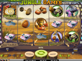 image of the online free slot Jungle Games