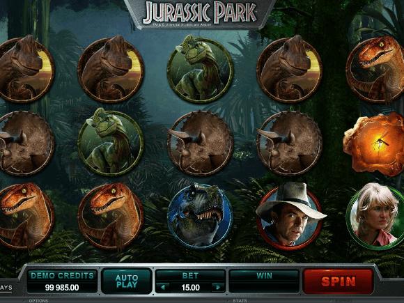 online free Jurassic Park slot