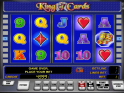 free online slot machine game King of Cards