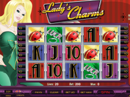 online free Lady´s Charms slot