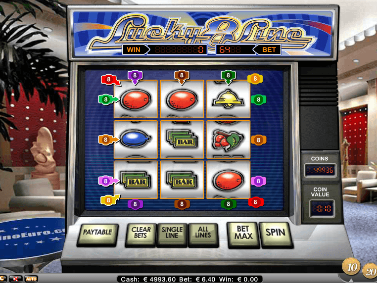 8 Line Slot Machines