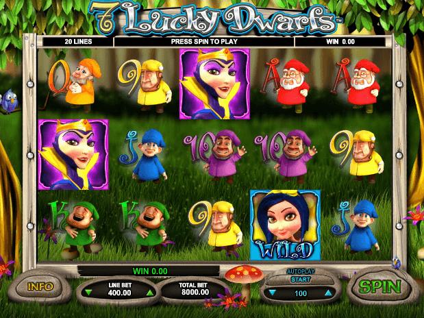 slot Lucky Dwarfs free online