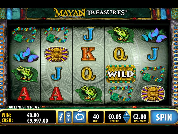 online free slot Mayan Treasure