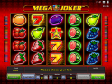 free online slot machine Mega Joker no registration no deposit