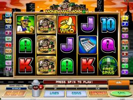 online free slot Money Mad Monkey