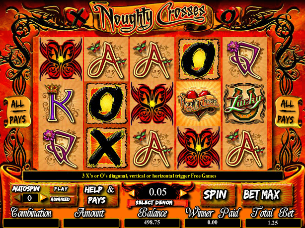 free online slot Naughty Crosses
