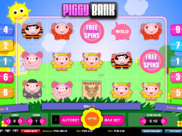 free online slot Piggy Bank