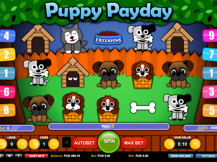 free online slot Puppy Payday