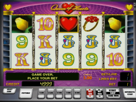 Free online slot Queen of Hearts