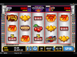 Quick Hit Platinum free online slot