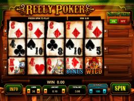 free online slot Reely Poker