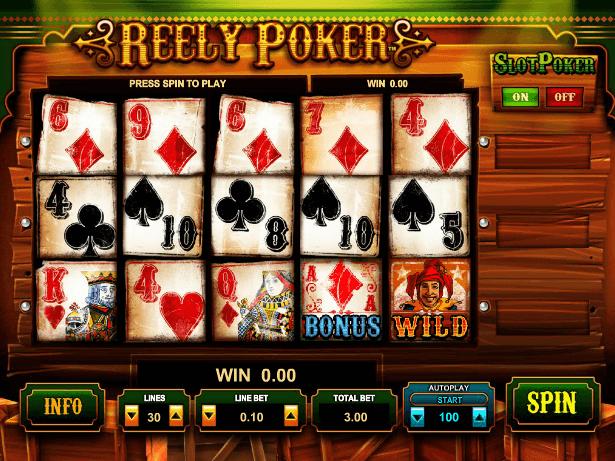 Слот покер играть онлайн бесплатно казино на реальные деньги в кредит