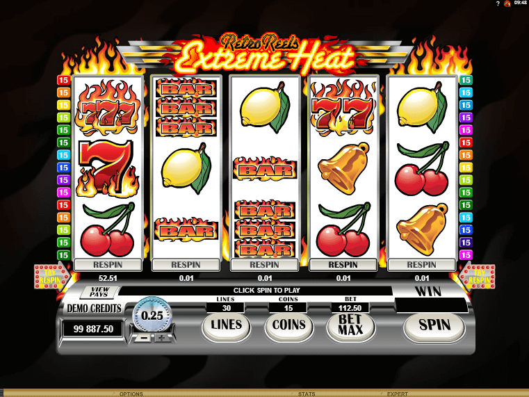 Retro Reels: Extreme Heat Slots - Play it Now for Free