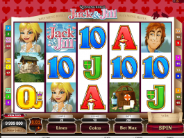 Rhyming Reels: Jack & Jill online free slot