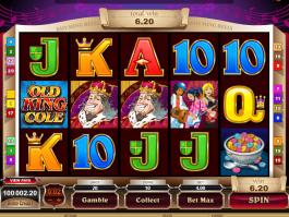 online free slot Rhyming Reels: Old King Cole
