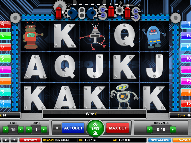 online free slot Roboslots
