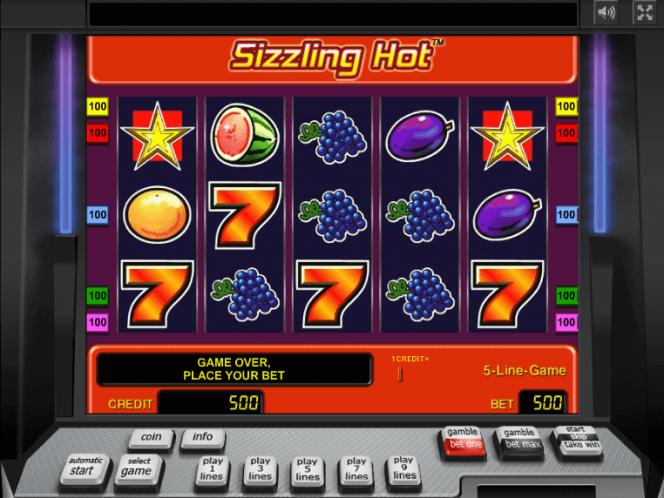 Sizzling Hot Slot Game Free Download