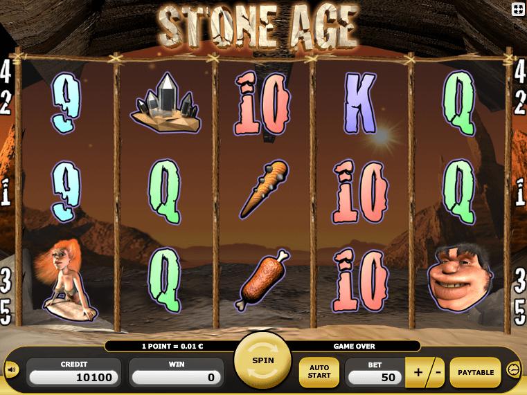 Stone Age Slot Machine