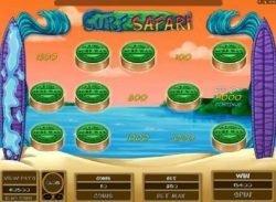 Bonus Game from online free slot Surf Safari