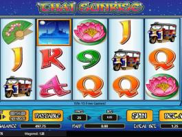 online free slot Thai Sunrise
