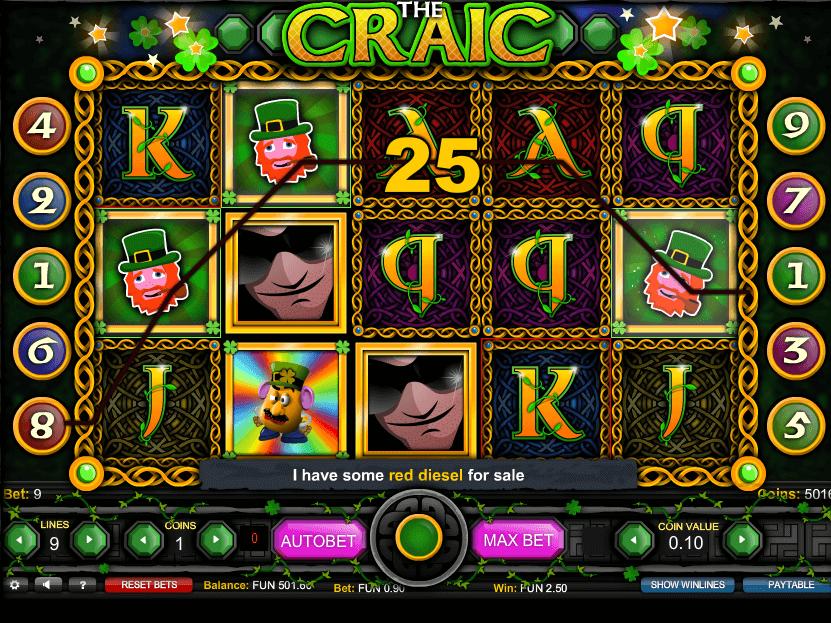 free online slot The Craic