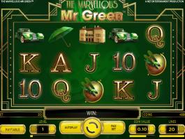 online free slot The Marvellous Mr. Green