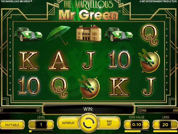 Mr Green Gratis Slots