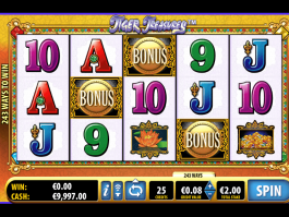 Tiger Treasure online free slot